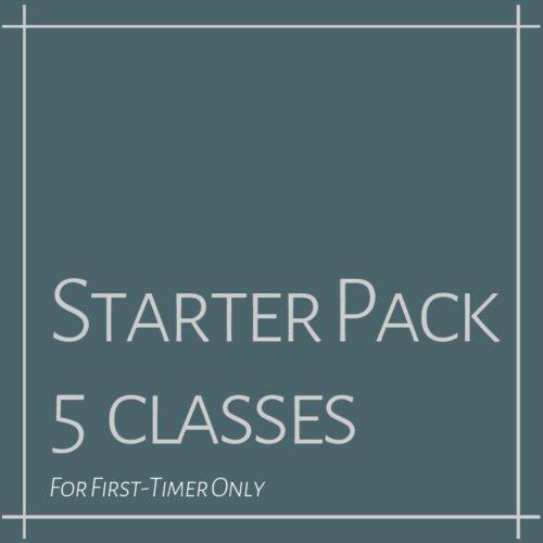 STARTER PACK: 5 CLASS